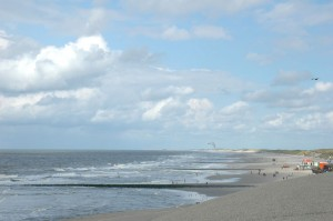 Strand en zeewering